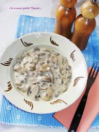 Ciulama de ciuperci pentru o masa rasfatata